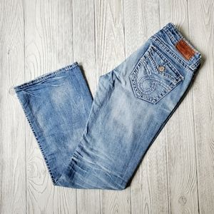 "BIG STAR ""LIV"" DISTRESSED JEANS"